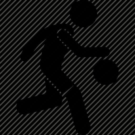 basketball, player, playing icon