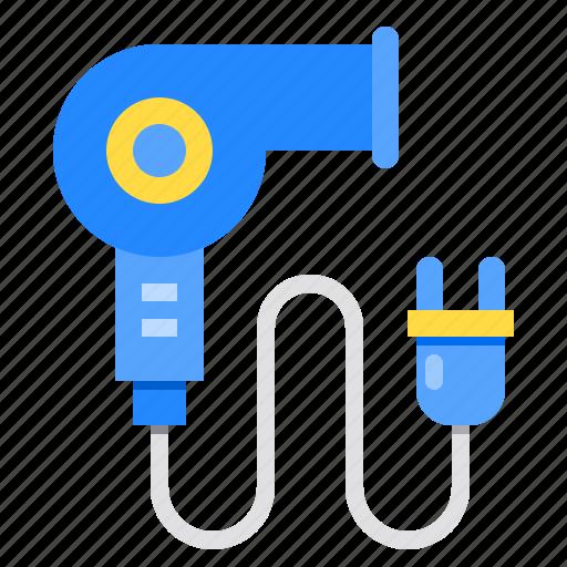 Beauty, dryer, hair, hairdryer, salon icon - Download on Iconfinder
