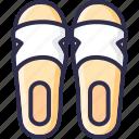 flip, flops, footwear, sandals, shoes, slippers icon