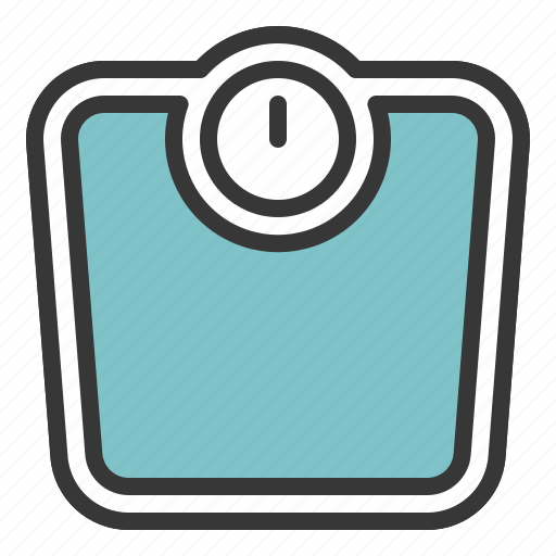 bathroom, scale, weight, weight scale icon