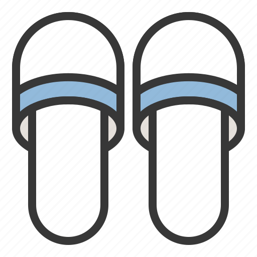 bathroom, bathroom shoes, shoe icon
