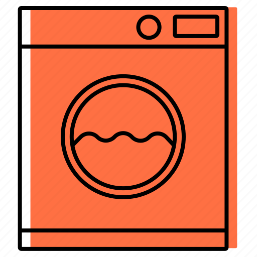 bathroom, equipment, laundry, toilet, washer, washing machine icon