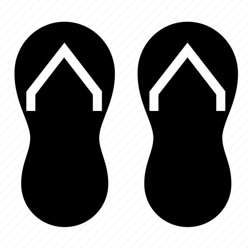 footwear, slippers icon