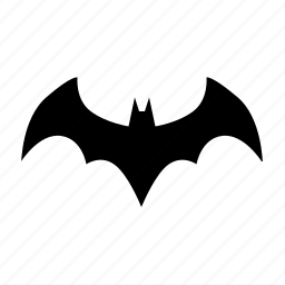 bat, batman, comix, hero, logotype, sign icon