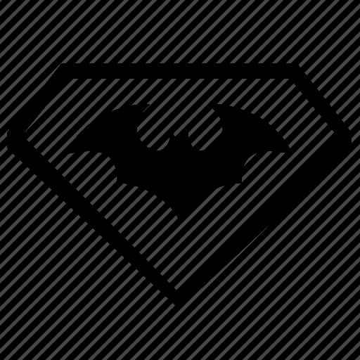bat, batman, logo, logotype, sign icon