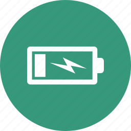 charging, simple icon