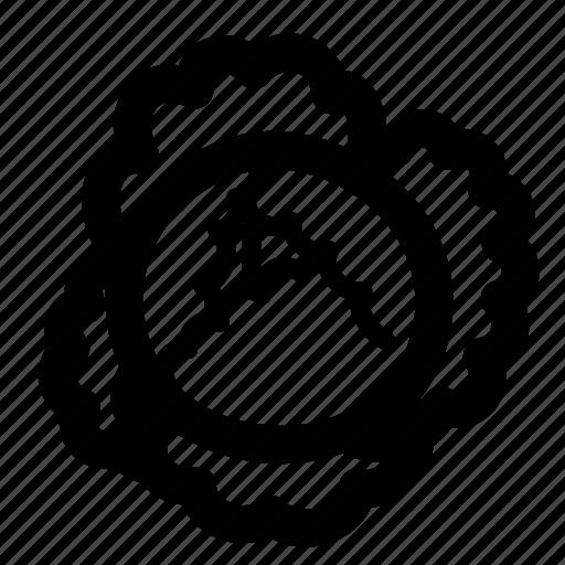 Cabbage black icon