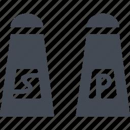 bbq, kitchen, pepper, pepperbox, salt icon