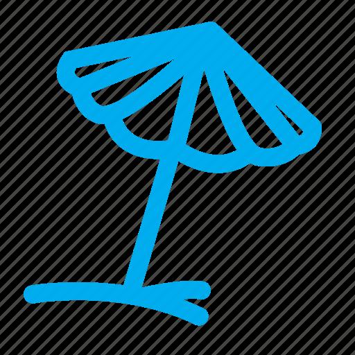 beach umbrella, protection, relax, relaxation, sleeping, sunbath, umbrella icon