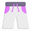 swimming trunks, pants, shorts, wear, garment, fashion, clothes icon
