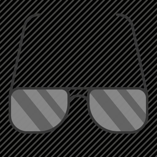 beach, beach scene, glasses, sunglasses icon