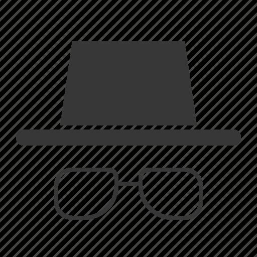 beach, eyeglass, glasses, straw hat icon