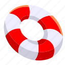beach, buoy, safety, sea, summer icon