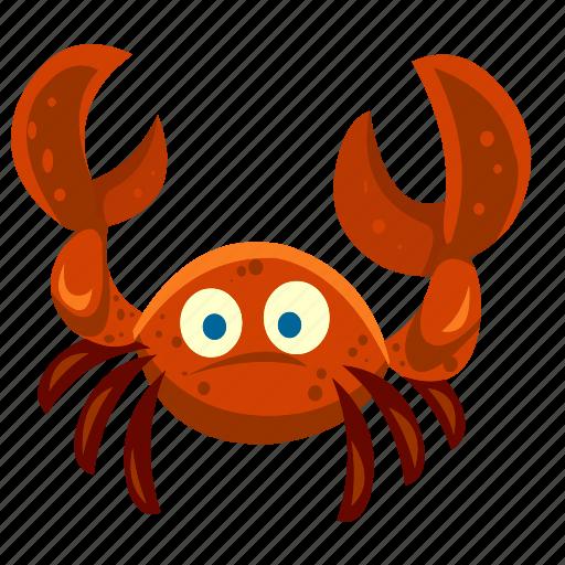 animal, beach, crab, food, marine, sea, summer icon