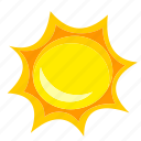 beach, sea, summer, sun, sunny, travel, weather icon