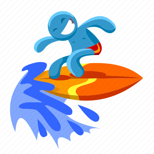 beach, ocean, sea, summer, sun, surf, water icon