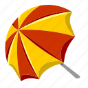 beach, holiday, ocean, sea, summer, umbrella, vacation icon