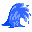 beach, ocean, sea, summer, vacation, water, wave icon