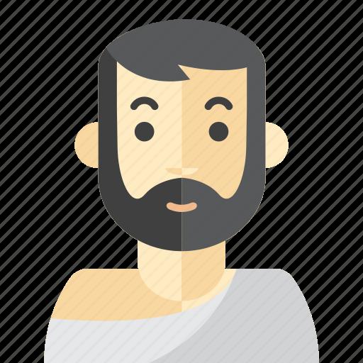 beard, man, mecca, moslem icon