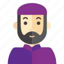 beard, man, moslem, religion
