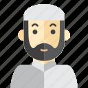 beard, man, moslem, saudi