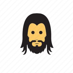 avatar, beard, emoticons, men icon