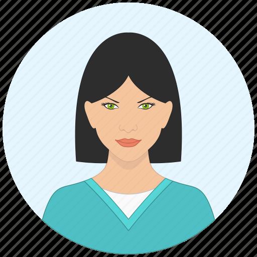 avatar, face, girl, profile, sexy, user, woman icon