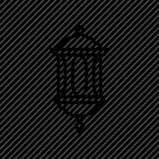 islam, lamp, lantern, light, moslem icon