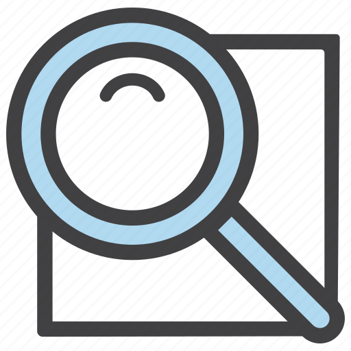 document, file, find, search icon