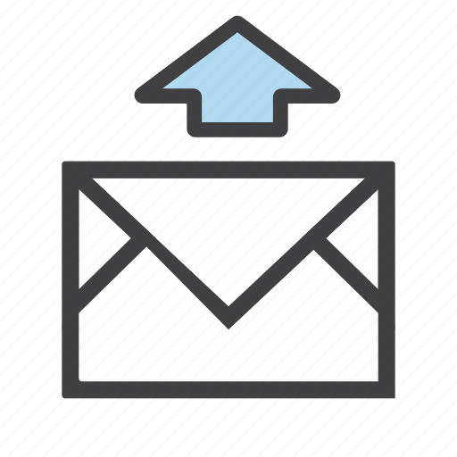 archive, email, export, letter, mail, send, upload icon
