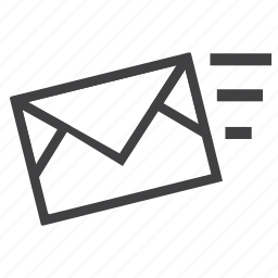 email, letter, mail, receive, send icon