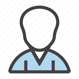 client, man, person, staff, worker icon