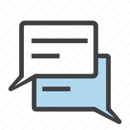 chat, comment, communication, dialogue, message, messenger, talk icon