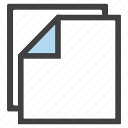 document, documents, file, files, notes, papers, stack icon