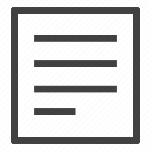 document, file, letter, note, page, paper icon
