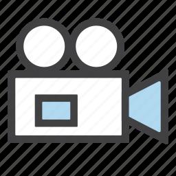 camera, cinema, film, movie, recorder, video icon