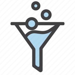 alchemy, filter, filtering, funnel, funnels, sort icon