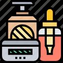 cosmetics, products, moisturizer, treatment, beauty
