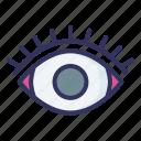 eye, tappering, beauty, eyelashes, beautiful