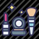 makeup, tool, lipstick, brush, beauty