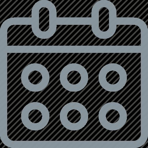 book, bookings, calandar, schedule, scheduling icon