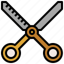 and, beauty, cut, cutting, scissor, scissors, tool icon