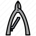barber, beauty, cut, salon, scissors, tool icon