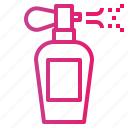 beauty, perfume, spray icon