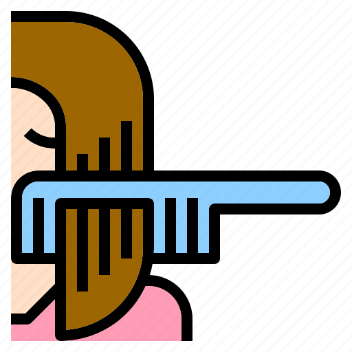 Beautiful, beauty, brush, comb, hair, salon, straight icon - Download on Iconfinder