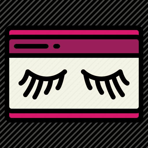 Beauty, closed, eye, eyelash, eyes icon - Download on Iconfinder