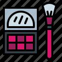 eyeshadow, make, powder, pressed, up icon