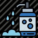bath, bottle, shampoo, soap icon