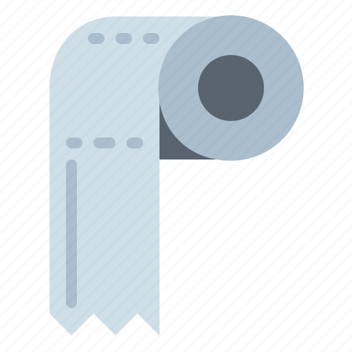 bathroom, hygiene, miscellaneous, paper, toilet icon
