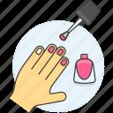 polish, nail, hand, magenta, enamel, makeup, make, up, pink, cosmetic, varnish, manicure, fuchsia, beauty icon